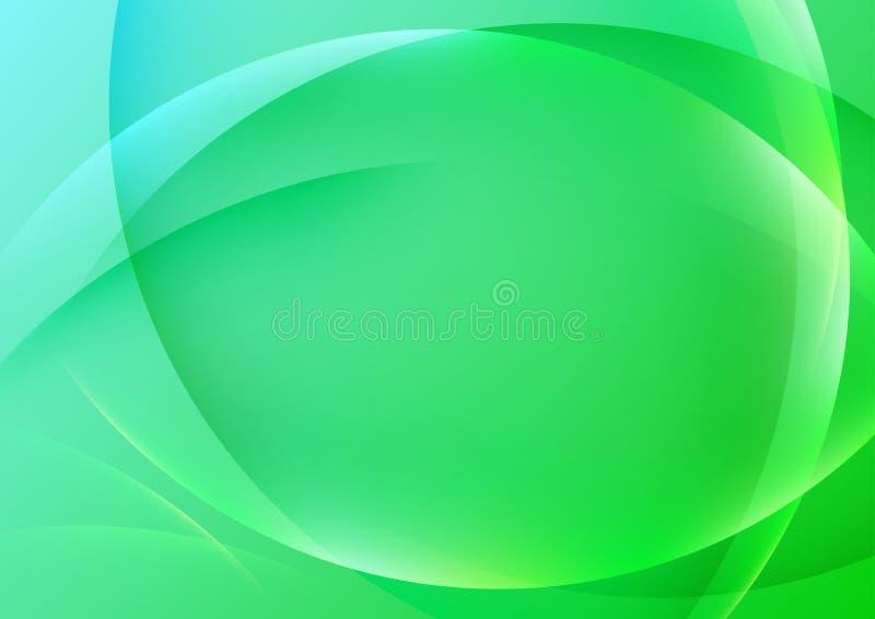 Halftone heldergroene transparante achtergrond stock illustratie