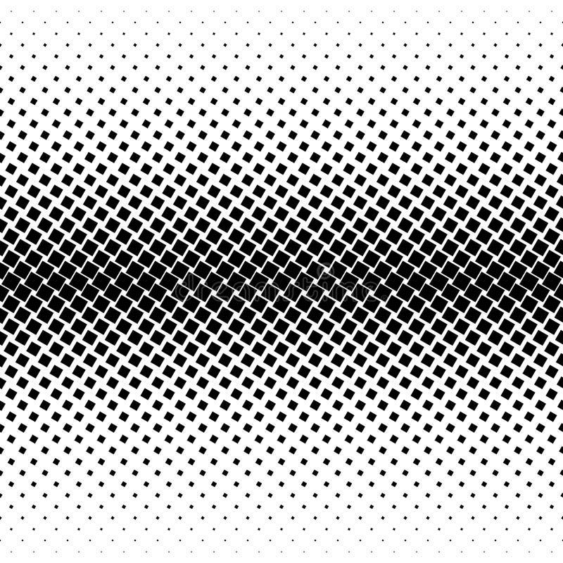 Halftone kwadrata kropki wektoru tekstura Halftone wzoru brzmienia tło ilustracja wektor