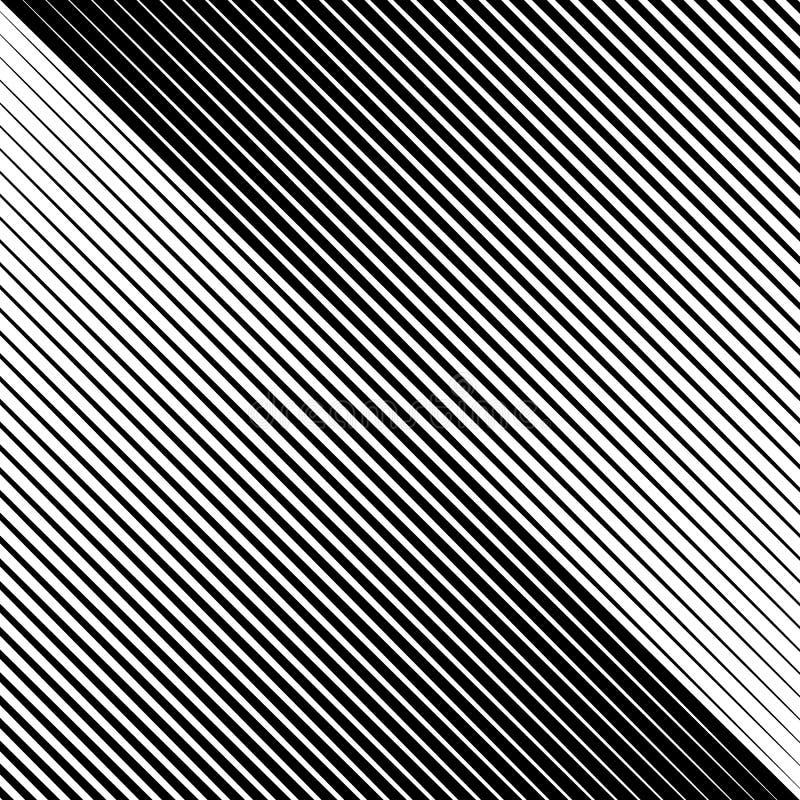 Halftone line oblique geometric pattern background vector illustration