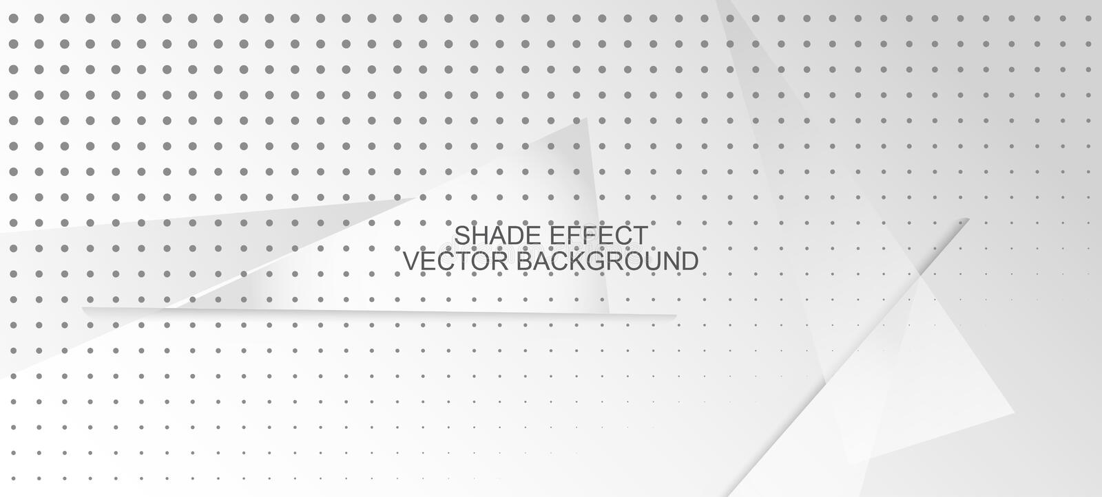 Halftone Modern Gray Vector Achtergrond Dynamic Faded banner stock illustratie