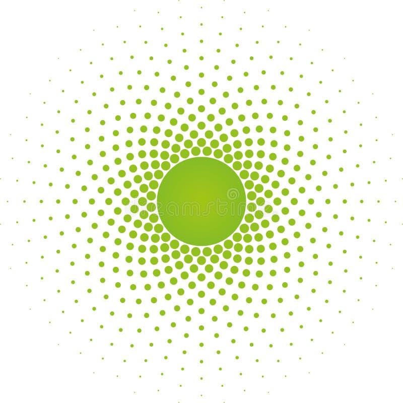 Halftone okręgu ramy projekta wektorowy element royalty ilustracja