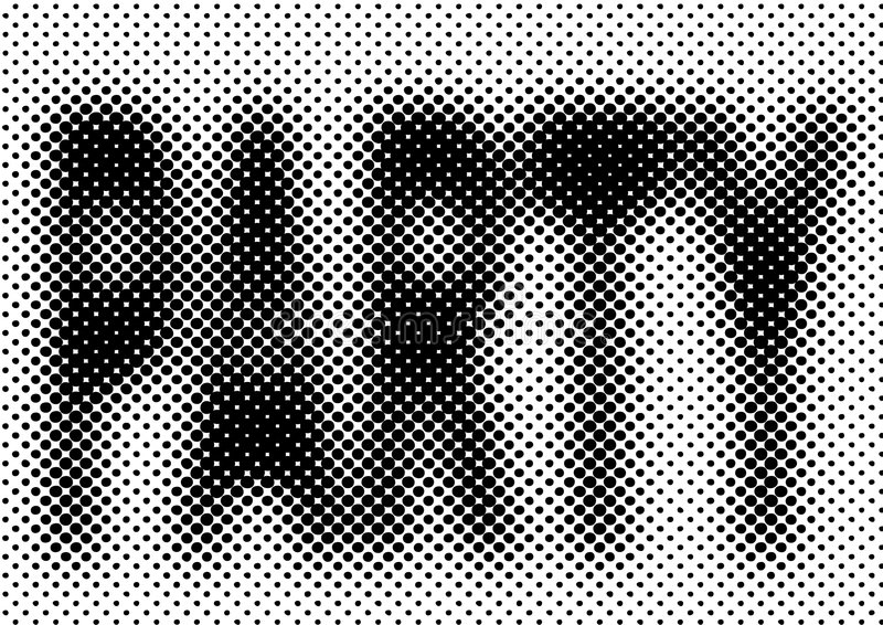 Halftone party background vector illustration