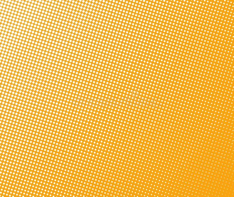Halftone patroon stock illustratie