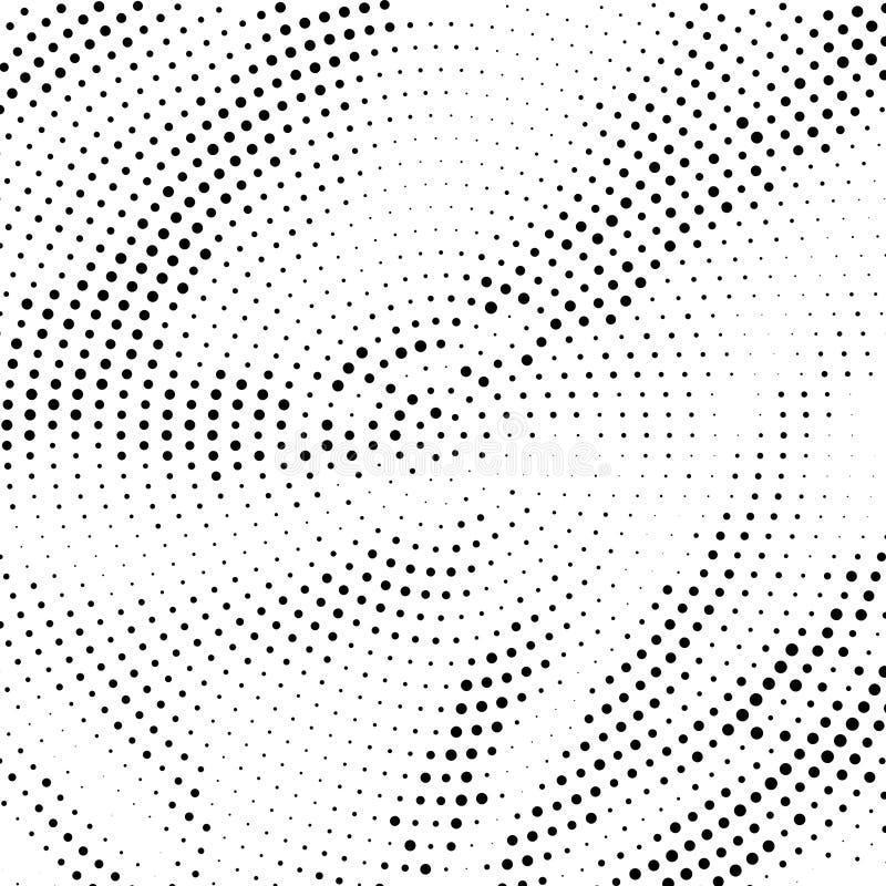 Halftone patroon vector illustratie