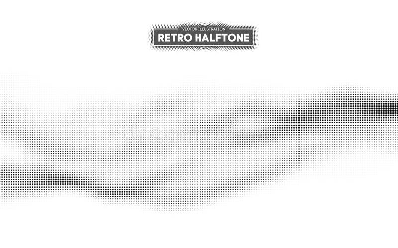 Halftone pattern vector. Gradient dot pattern. Grunge halftone background ,old retro comic book design element. Vector vector illustration