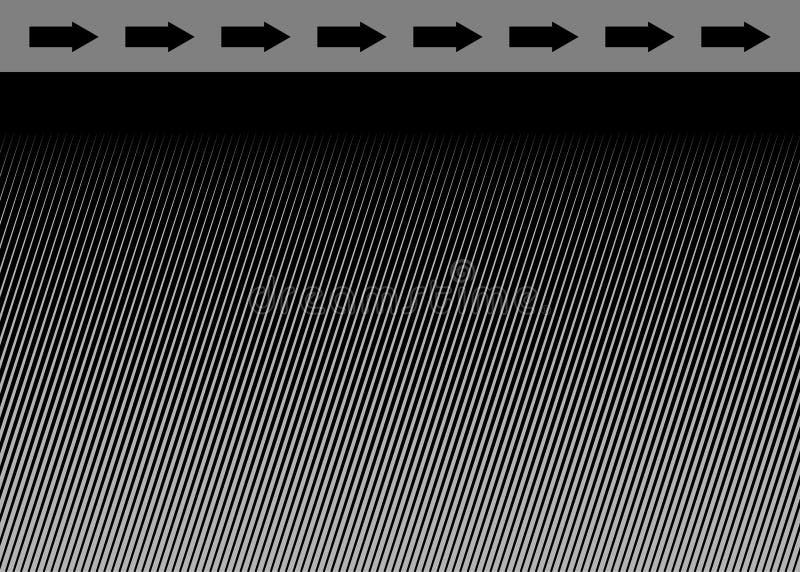 halftone pointer ilustracji