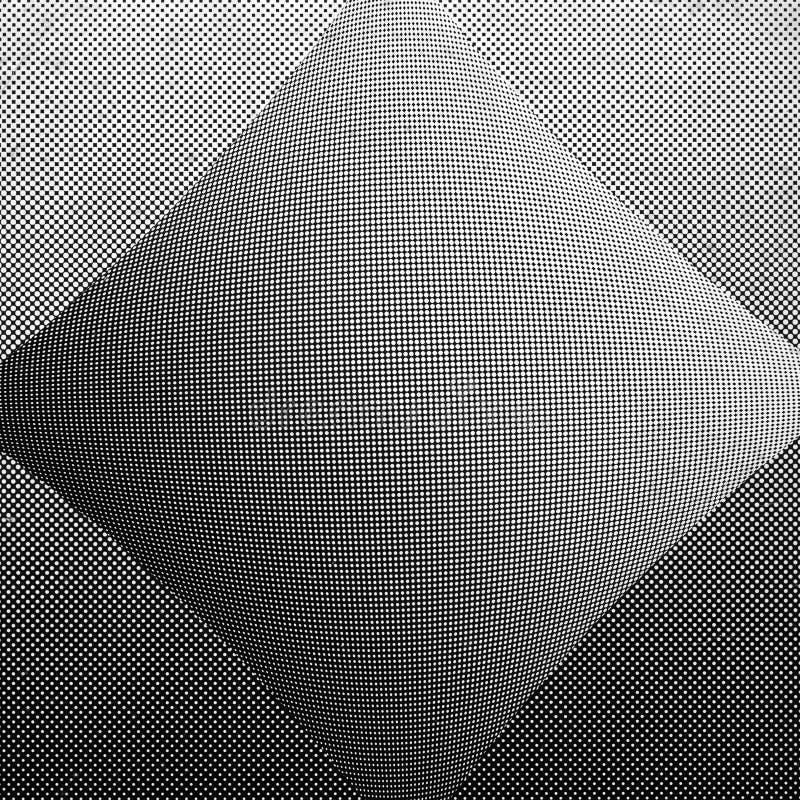 Halftone puntenachtergrond stock foto