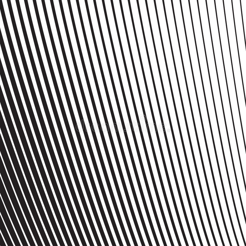 Halftone radial pattern background striped. Vector lines texture vector illustration