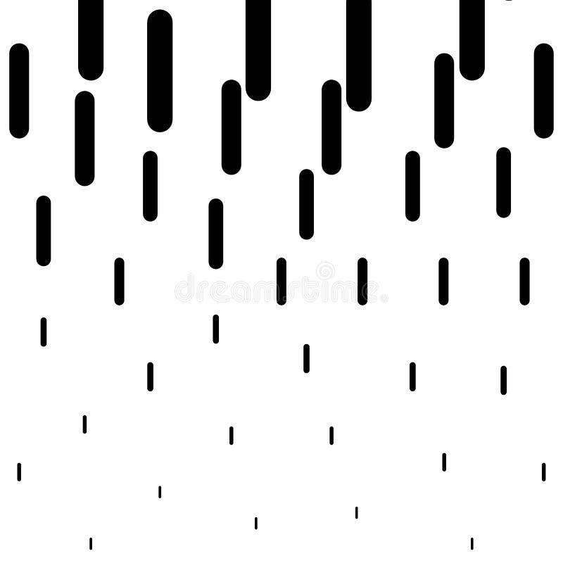 Halftone rond gemaakte het patroonachtergrond van de lijnen verticale gradiënt, Vectorillustratie vector illustratie