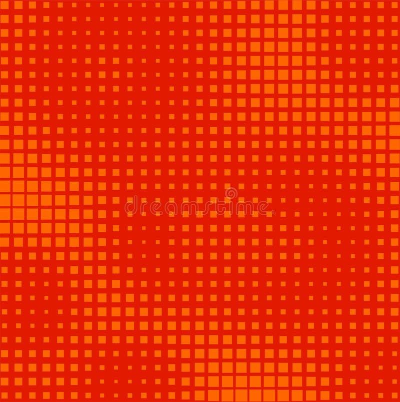 Download Halftone squares stock vector. Image of design, border - 24195009