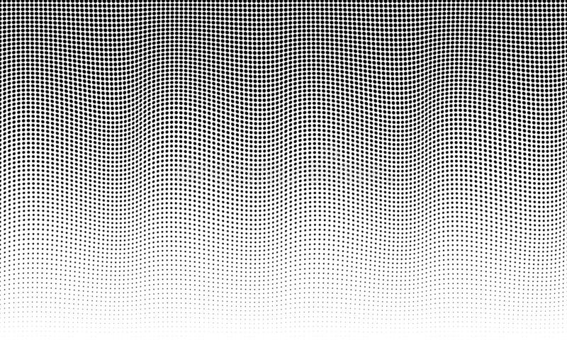 Halftone texture. halftone pattern. abstract background stock illustration