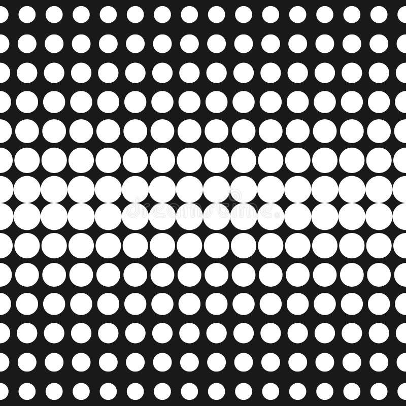Halftone Textuur van Punten In ontwerp voor digitaal decor, Web royalty-vrije illustratie