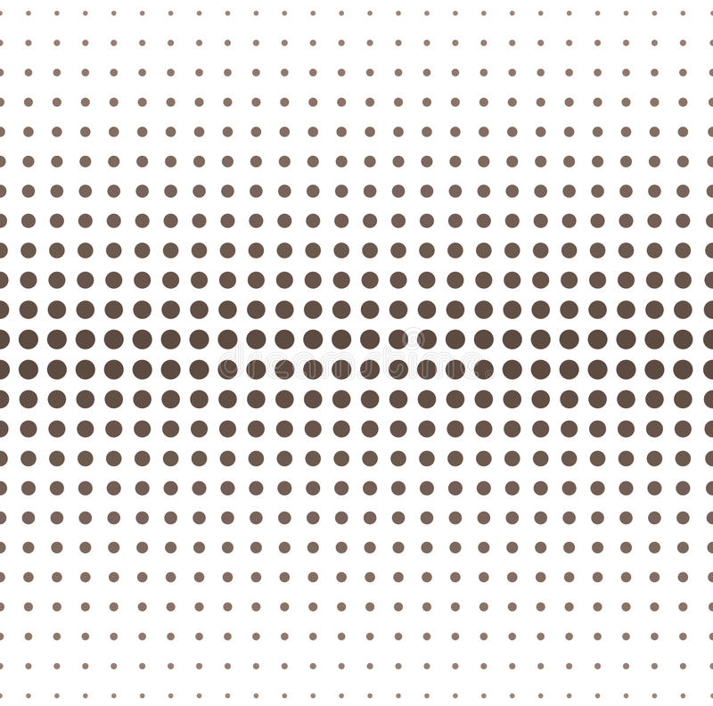 Halftone Vector Background. Vector illustration of abstract halftone background stock illustration