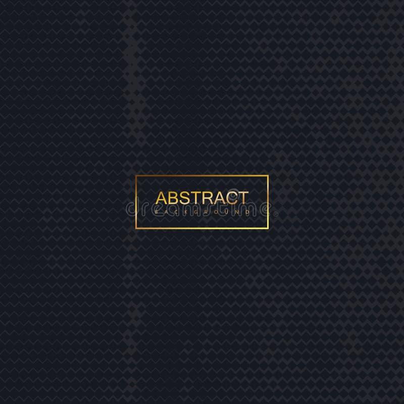 Halftone vintage damaged black texture. royalty free illustration