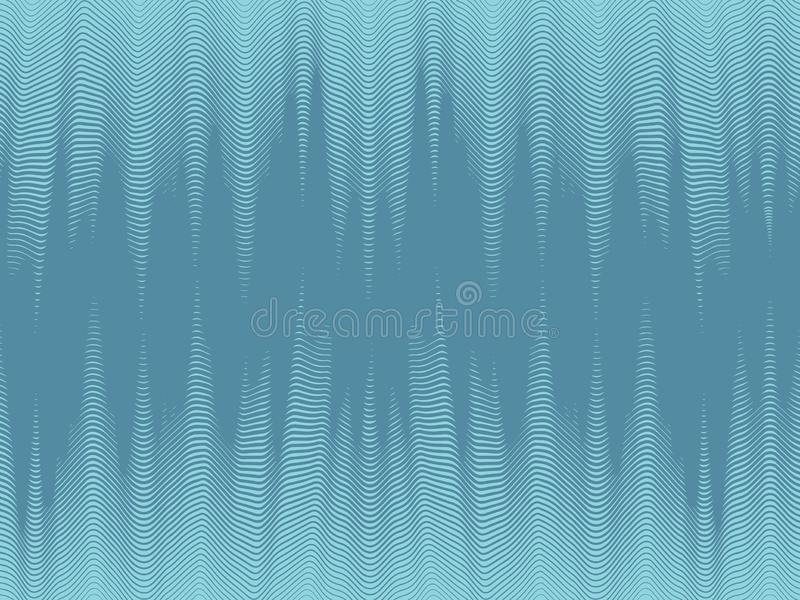 Modern dynamic wallpaper, seamless halftone waves. Abstract futuristic background, modern dynamic wallpaper, seamless halftone waves, abstract background, vector royalty free illustration