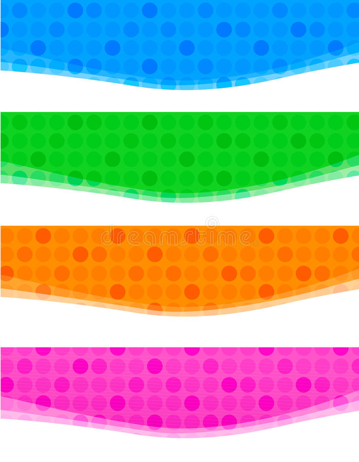 Download Halftone Web Header / Banner Royalty Free Stock Photography - Image: 17243637