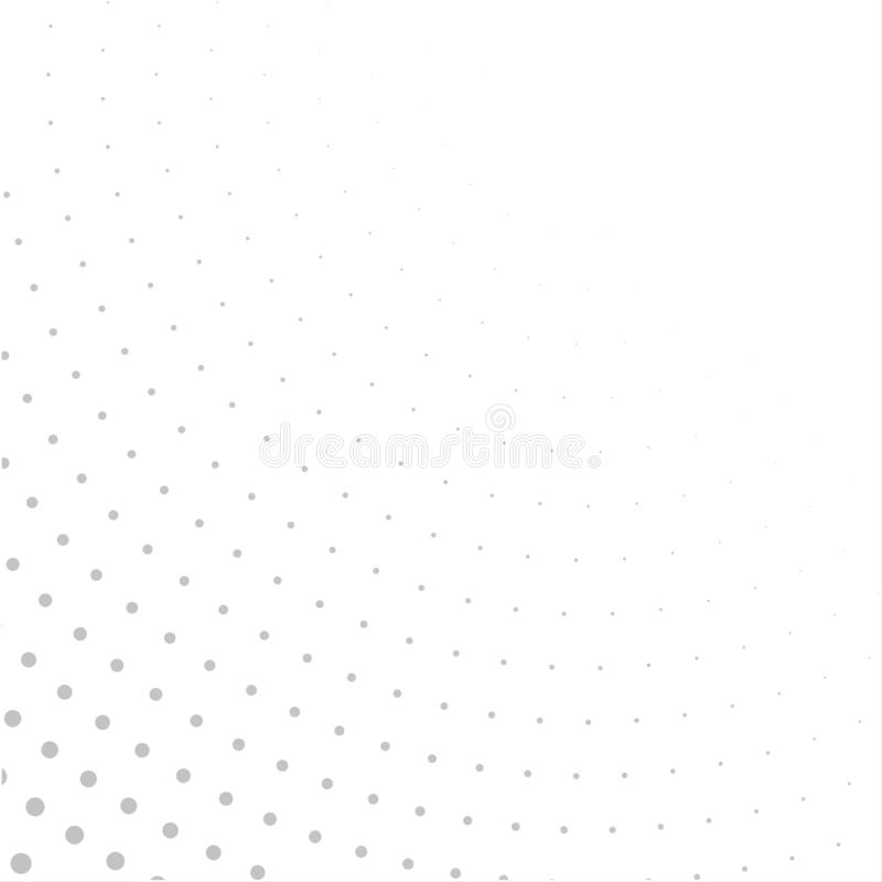 Halftone white grey background. design concept. royalty free stock photography