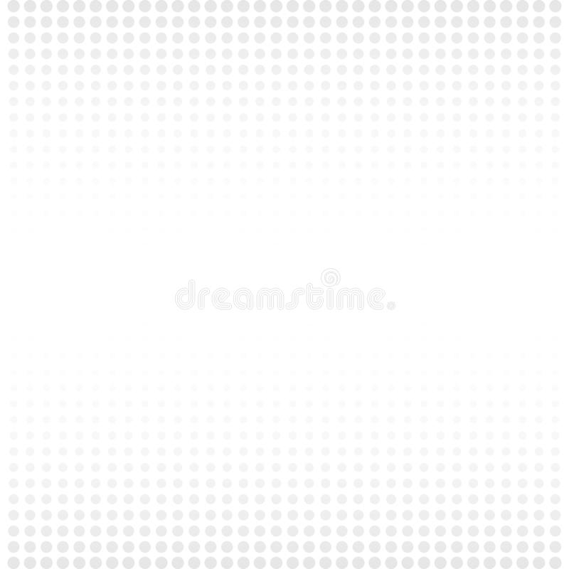 Halftone white & grey background. Dotted abstract vector illustration on white isolated background. Dots background business. Concept vector illustration
