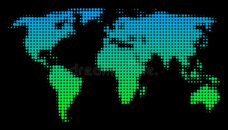 Halftone world map stock illustration illustration of mosaic download halftone world map stock illustration illustration of mosaic 114747672 gumiabroncs Gallery
