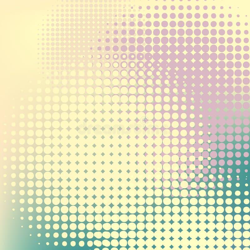 halftones пастельные бесплатная иллюстрация