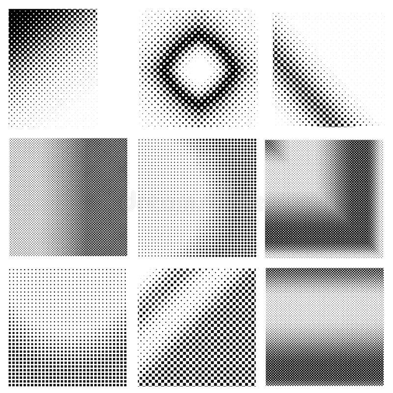 Halftonic_4 vector illustration