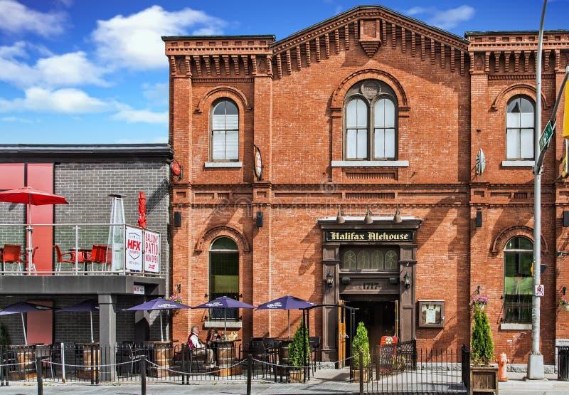 The Halifax Alehouse stock image