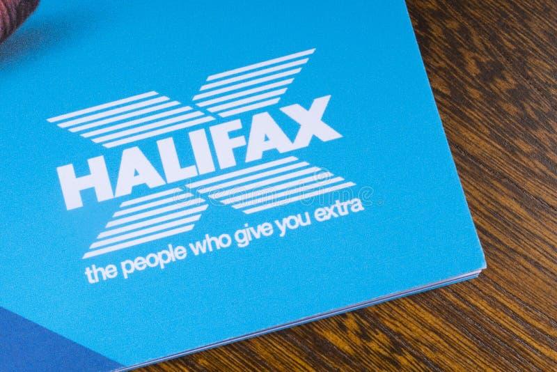 Halifax Bank-Logo stockbild