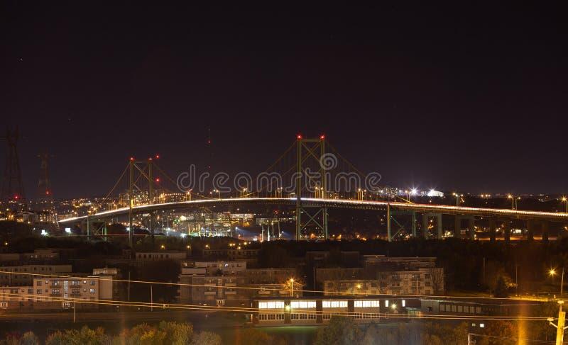 Halifax bro royaltyfria bilder