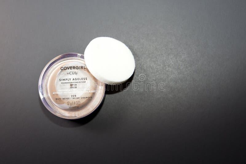 Cover Girl makeup foundation stock photos
