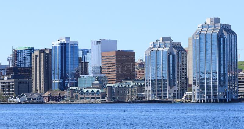 Halifax, centro urbano di Nova Scotia un bello giorno fotografia stock