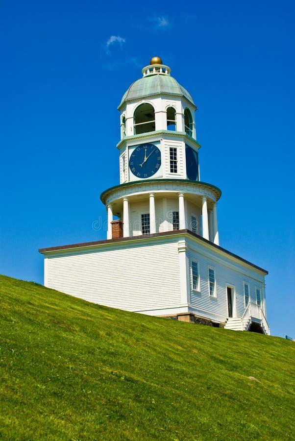 Download Halifax clock stock image. Image of fortress, time, nova - 20228663