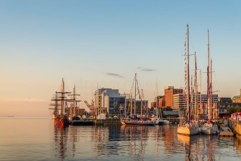 Halifax in de Vroege Ochtend royalty-vrije stock fotografie