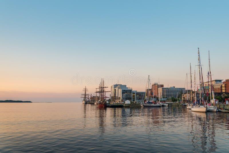 Halifax in de Vroege Ochtend stock foto
