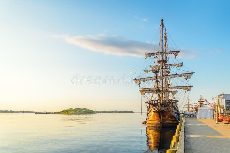 Halifax in de Vroege Ochtend royalty-vrije stock afbeelding