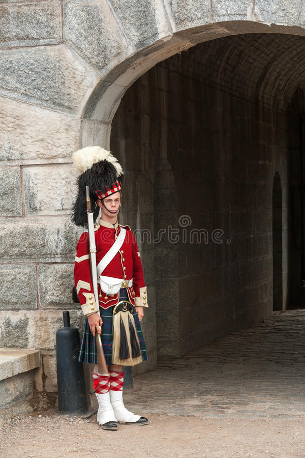 Halifax fort royalty free stock photos