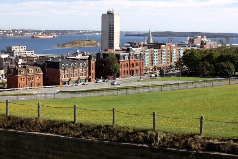 Halifax-Hafen lizenzfreies stockfoto
