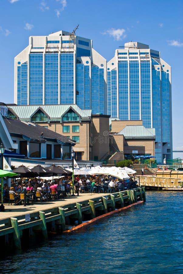 Halifax-Hafen lizenzfreie stockfotos
