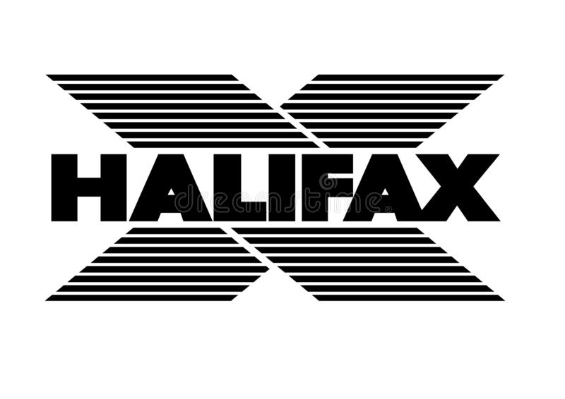 Halifax-Logo stock abbildung