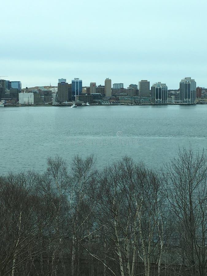 Halifax od daleko obrazy royalty free