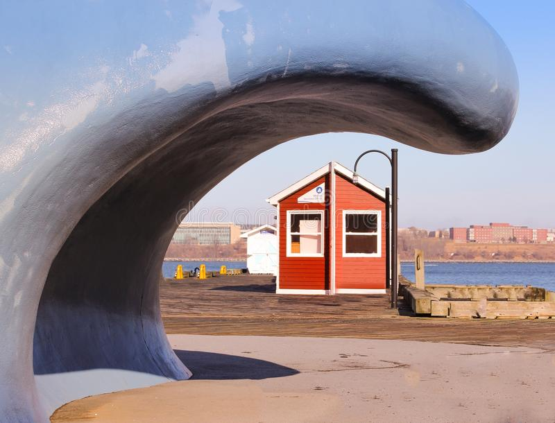 Halifax-Pier lizenzfreie stockfotografie