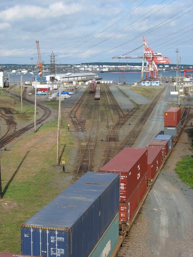 halifax portu zdjęcie royalty free