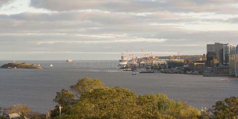 Halifax-Ufergegend lizenzfreies stockbild