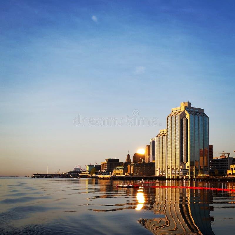 Halifax-Ufergegend stockbilder