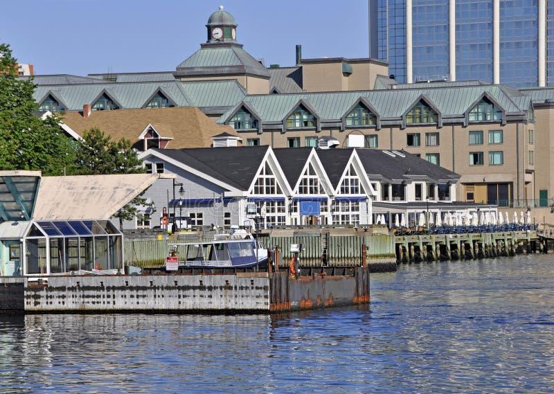 Halifax-Ufergegend lizenzfreies stockfoto
