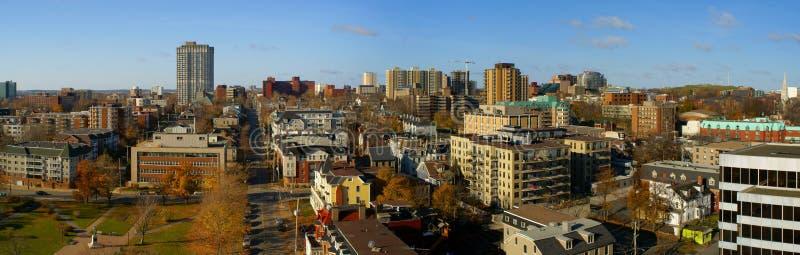 Halifax van de binnenstad royalty-vrije stock foto's