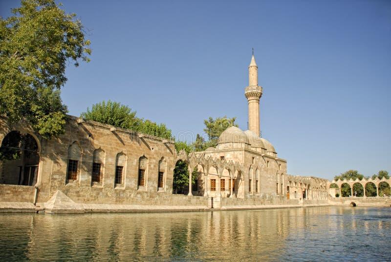 Halil Rahman Mosque in Sanliurfa, Turkije royalty-vrije stock afbeeldingen
