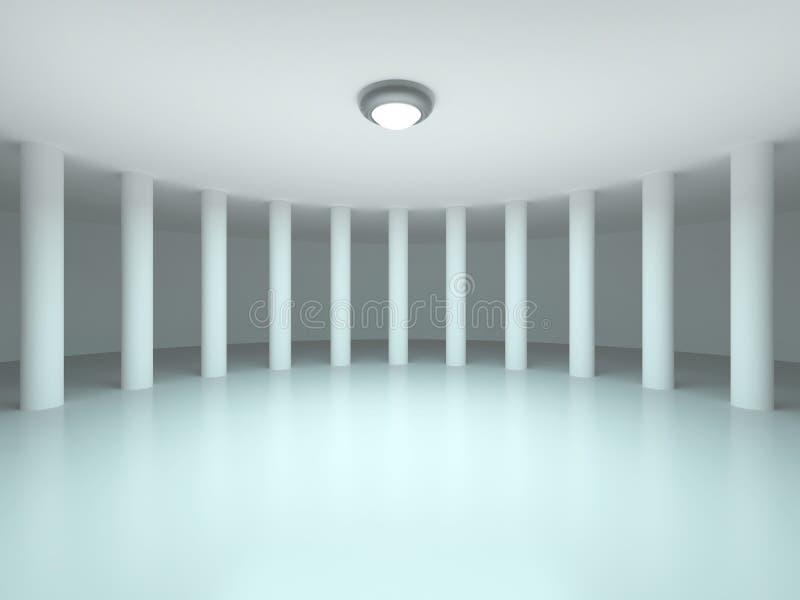 Download Hall stock illustration. Illustration of futuristic, colonnade - 22344032