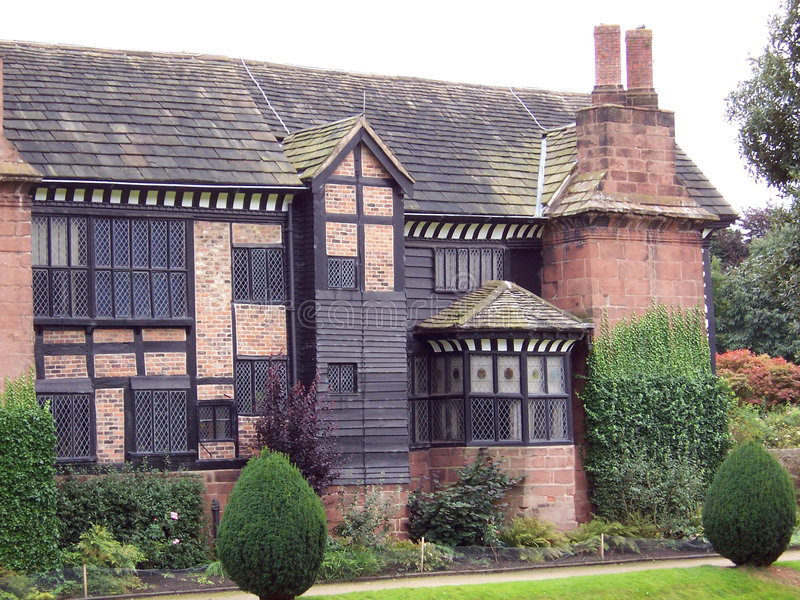 Hall 5 de Tudor image stock