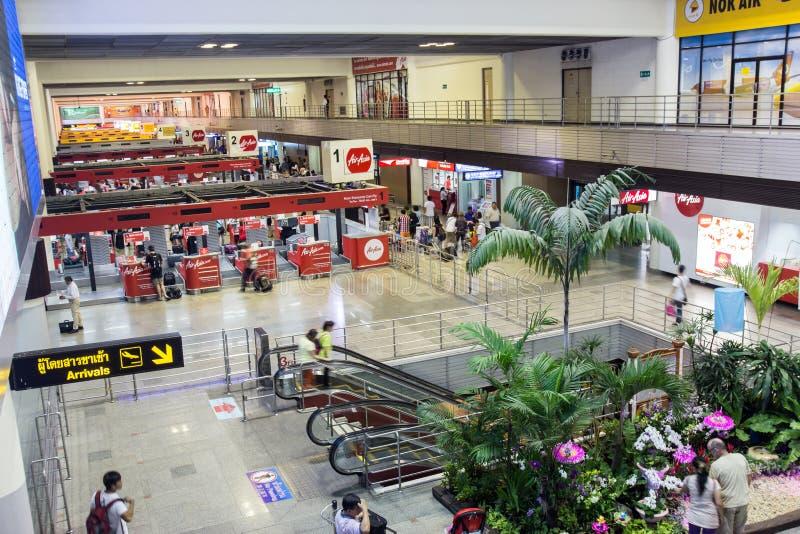 Hall airport Don Muang DMK, Bangkok royalty free stock photo