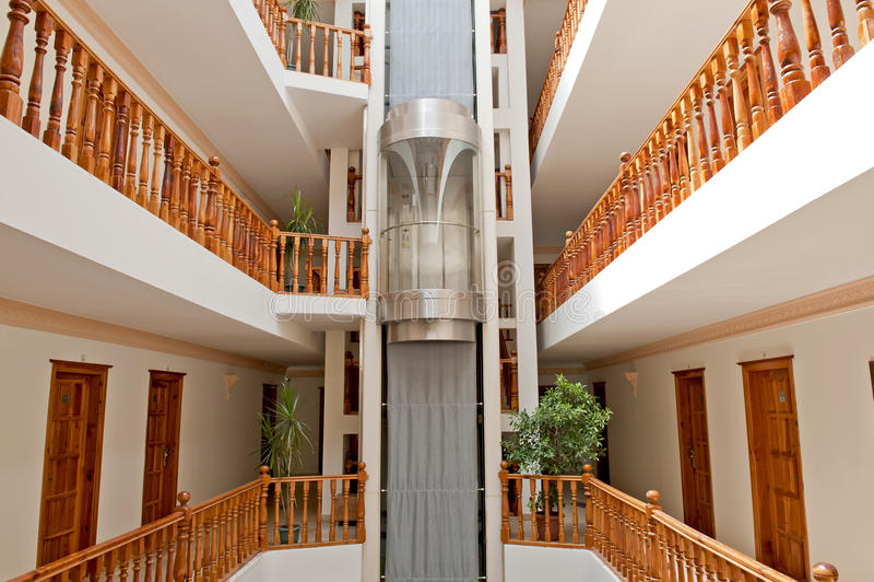 Hall d'ascenseur photos stock